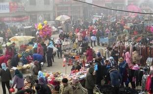 鲁西南乡村大集:淳朴的民风中活跃着勤劳的村民