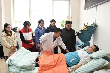 郓城95后小伙儿成功捐献造血干细胞  为四川一位患者送去生命的希望
