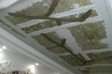 菏泽阅城国际小区一新房有多处裂缝 居民盼尽快修复