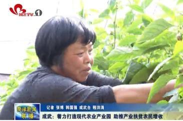 成武:着力打造现代农业产业园 助推产业扶贫农民增收