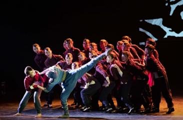 山东乳山:大型红色民族舞剧《乳娘》