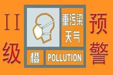 关于启动重污染天气Ⅱ级应急响应的公告