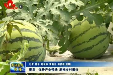 曹县:优势产业带动 助推乡村振兴