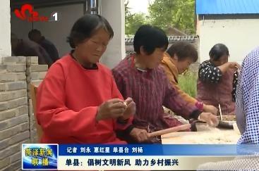 单县:倡树文明新风 助力乡村振兴