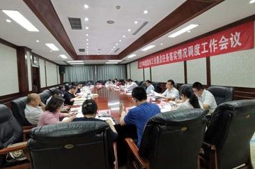 2019年菏泽市工会重点任务落实情况调度工作会议召开
