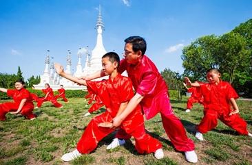非遗项目孙膑拳国家级代表性传承人刘海港