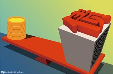 近7000亿将到期 房企还债违约风险受预警