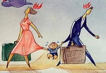 """离婚教育:让单亲父母学会如何""""爱""""孩子"""