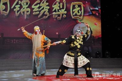 成武县戏迷协会走进《双阳锦绣梨园》