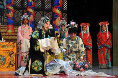 市地方戏曲传承研究院山东梆子剧团演绎《贺后骂殿》