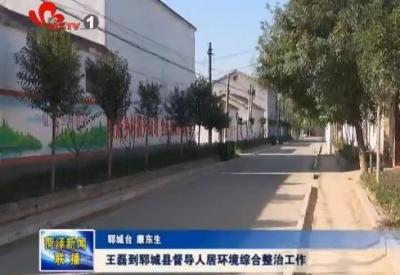 王磊到郓城县督导调度人居环境综合整治工作