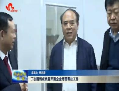 丁志刚到成武县调研企业纾困帮扶工作