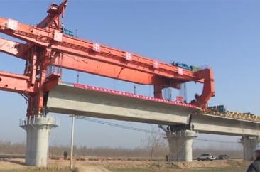 鲁南高铁菏兰段线下工程进入收尾阶段