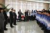 高荣国看望参加第24届省运会菏泽足球代表队  鼓励他们取得好成绩